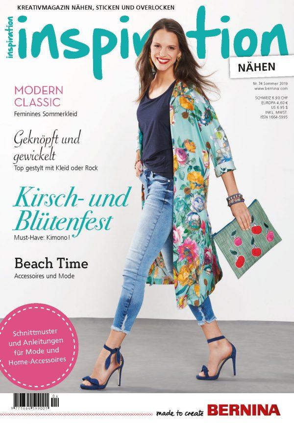 Cover inspiration Magazin 74