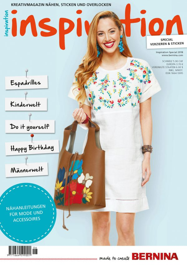 Cover inspiration Magazin Special 2018