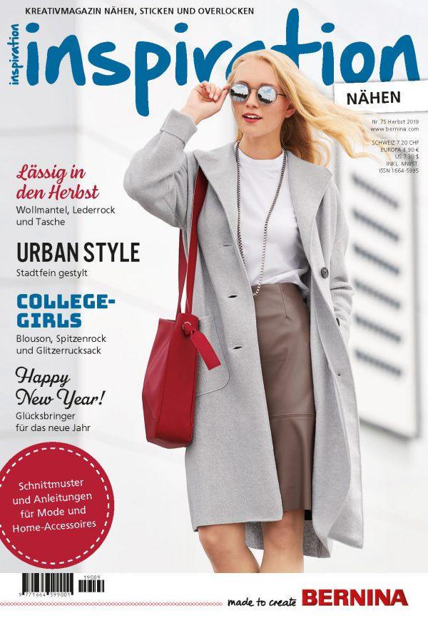 Cover inspiration Magazin 75