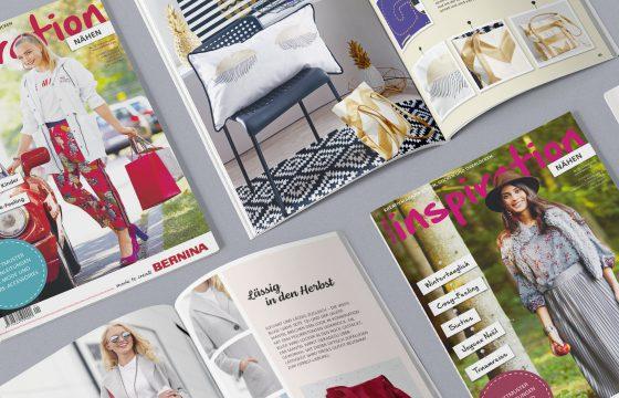 Übersicht aller inspiration Magazine